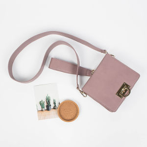 Fashion Square PU Crossbody Bag Ladies Shoulder Bag pictures & photos
