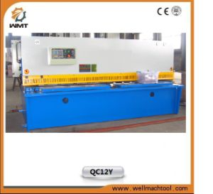 Hydraulic CNC Guillotine Metal Plate Shear Machinery QC12y 6X2500mm pictures & photos