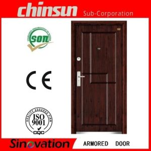 Steel Wooden Armored Door pictures & photos