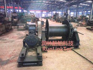100kn Diesel Winch/Marine Equipment/Explosion-Proof Diesel Winch/Ship Building Equipment pictures & photos