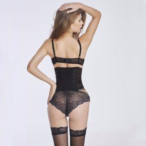 Women Sexy Transparent Waist Cincher Corset Waist Trainer pictures & photos