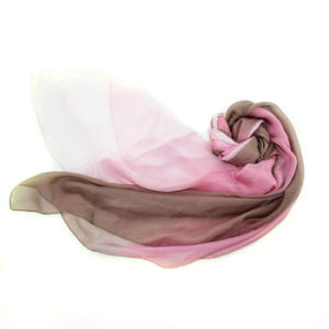 Custom 100% Medium Silk DIP Dyed Scarf pictures & photos