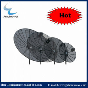 Hot Sale Factory in China High Quality Low Price High Gain 1.8m/2.4m/3m/3.2m/3.7m/4m/5m/6m Satellite Mesh Antenna Pole and Polar Mount C and Ku Band Antenna pictures & photos