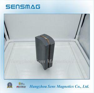C5, C8 Pemanent Ferrite Arc Magnet for Magnetic Separtor and Generator pictures & photos
