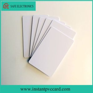 High Quality Inkjet Printable Blank RFID FM1108 PVC Card pictures & photos