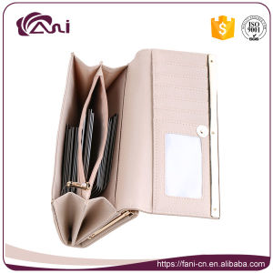 Fani Custom Fashion Wallet, Guangzhou PU Leather Wallet Women 2017 pictures & photos