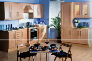 Ritz Home Furniture Particle Board PVC Kitchen Cabinet pictures & photos