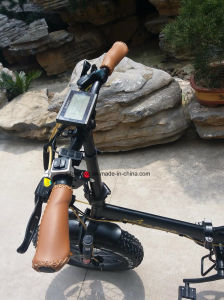"High Speed 20"" 36V Lithium Battery Folding Electric Snow Bicycle pictures & photos"