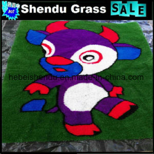 Grass Carpet Mat 1mx1m with OEM Design pictures & photos