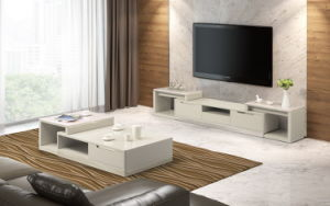 High Gloss Furniture Functional TV Stand (DS-2020) pictures & photos