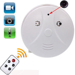 Popular Mini HD DVR Security Camera Smoke Detector Motion Detection Video Recorder Cam pictures & photos