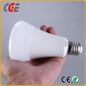 15W E27 Plastic Case LED Bulb with Ce pictures & photos