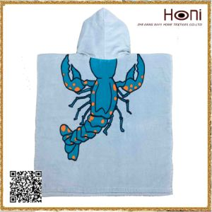 Lobster Cute Kids Poncho pictures & photos