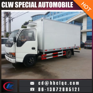 Isuzu Mico Size Refrigerated Box Van Truck Refrigeration Unit Truck pictures & photos