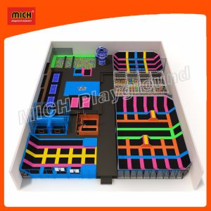 Trampoline Indoor Playground Trampoline Park Amusement Equipment 7120A pictures & photos