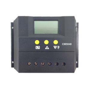 50A 48V Solar Panel Controller LCD Display for Solar System Home Indoor Use with Max Cm5048 pictures & photos