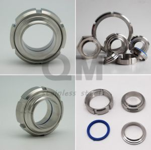 DIN SMS Idf Rjt Ds Sanitary Stainless Steel Union 304/316L pictures & photos