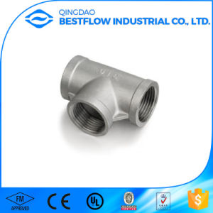 """ISO4144/En 10241 /ANSI 1/4-4"""" Ss 304/316 150lbs Screwed Pipe Fitting Street Elbow pictures & photos"""