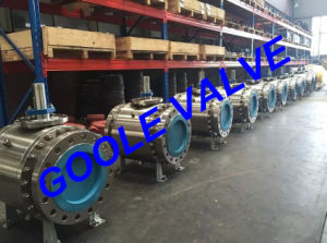 300LB Flanged Forge Trunnion Ball Valve (GAQ347N) pictures & photos