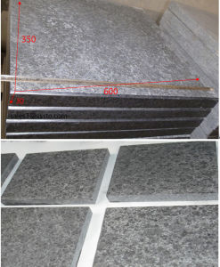 G684 Flamed Black Granite Stair Treaps/Paving Tiles for Stairs Decoration pictures & photos
