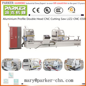 Aluminium Profile Cutting Machine Double Head Mitre Saw pictures & photos