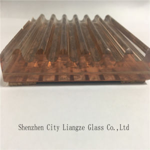 Customized Art Glass/Tempered Glass with Golden Mirror Since 1986 pictures & photos