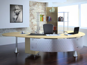 China Modern Office Furniture MFC Wooden MDF Office Table (NS-NW156) pictures & photos