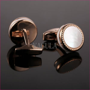 VAGULA Natural Mother Pearl Gemelos Cuff Links 52500 pictures & photos