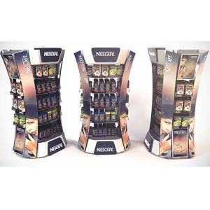 Sugar-Free Juice Promotion Cardboard Floor Display Stands pictures & photos