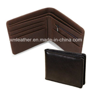 Top Quality Leather Name Card Holder Money Clip Wallet pictures & photos