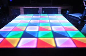 LED Disco Floor Lights DJ Lighting LED Dance Floor Mat pictures & photos
