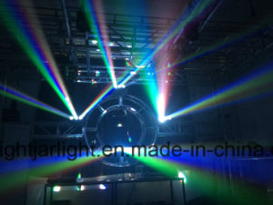 Hotsell LED 9X15W RGBW 4in1 LED Beam Wash Moving Head Lights Infinite Rotation Light Stage Lighting DJ Party Disco Wedding Lighting pictures & photos