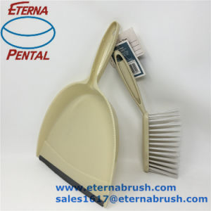 Hot Sale Plastic Dustpan & Brush Set for Table pictures & photos