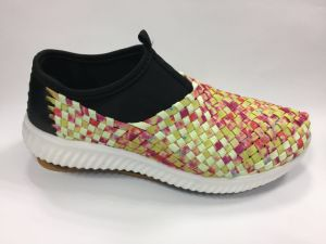 The Colorful Shoes with Hand-Making for Man and Woman