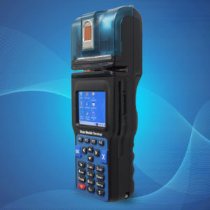 Pinpad POS Terminal with Fingerprint Authentication, Barcode (CP12) pictures & photos