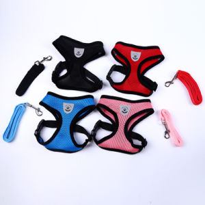 Quality Hot Sale Pet Accessories Leads Mesh Soft Harness for Pups pictures & photos