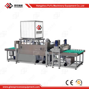 Horizontal Glass Washing Machine for Curtain Wall Glass pictures & photos