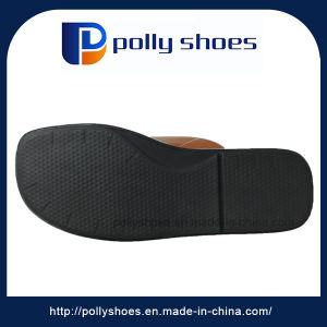 High Quality Men Slide PU Slipper Sale Retail Online Shop pictures & photos