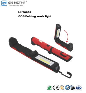 3W Folding Flashlight with Magnet pictures & photos