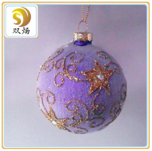 2016 Hand Blown Christmas Glass Ornament Ball pictures & photos