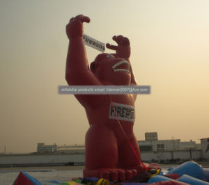 6mh Customized Giant Inflatable Gorilla for Advertising pictures & photos