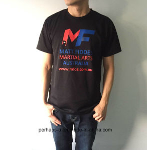 Super Breathable Mens Mesh T-Shirt with Print Logo pictures & photos