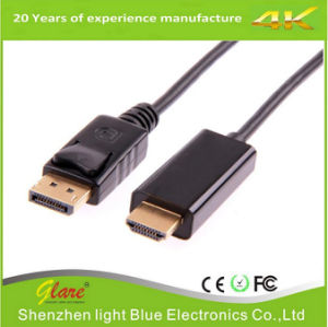Displayport 1.2 Dp Male to HDMI Male Cable Support 3D pictures & photos