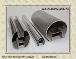 Wholesale Round Welded Stainless Steel Slot Tube pictures & photos