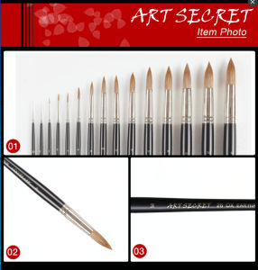 Ox Ear Hair Wooden Handle Artist Brush Set pictures & photos
