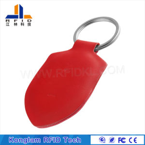 OEM Leather Portable MIFARE Smart RFID Card pictures & photos