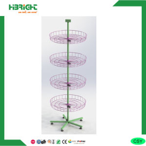 Round Rotating Toy Display Rack pictures & photos