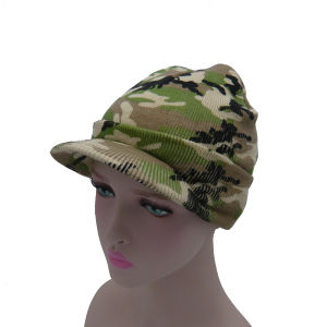 2017 New Multicolor Camouflage Knitted Hat pictures & photos