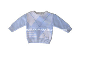 Lovely Short Velvet Sweater for Kids pictures & photos