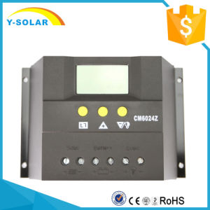 60A 12V/24V Solar Panel Battery Charge Controller/Regulator Cm6024 pictures & photos
